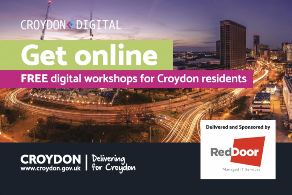 Croydon flyer - front