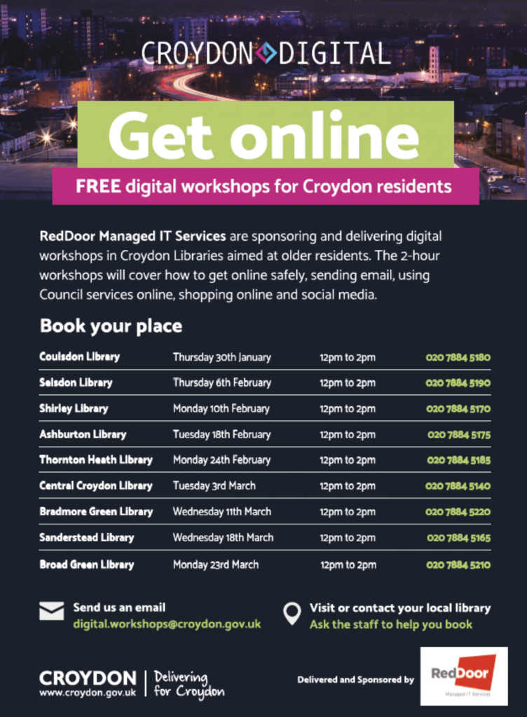 Croydon poster